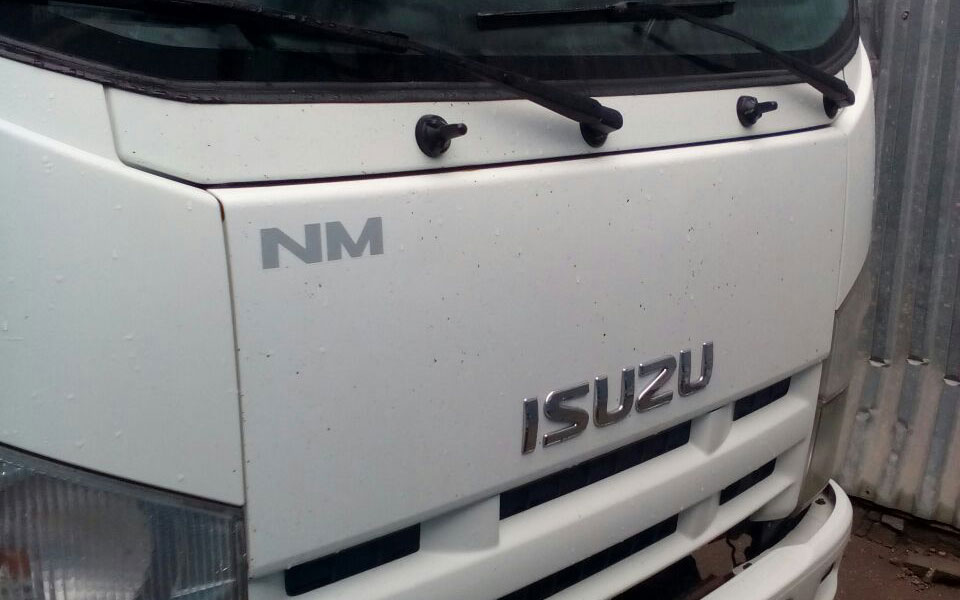 Установка  на Фургон ISUZU NM 2012 г.в.